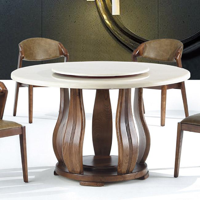 AS-威爾4尺半圓桌-130x130x76cm