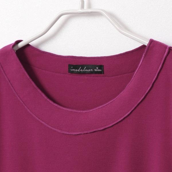 優雅布蕾絲拼接純色打褶五分袖上衣-OB嚴選