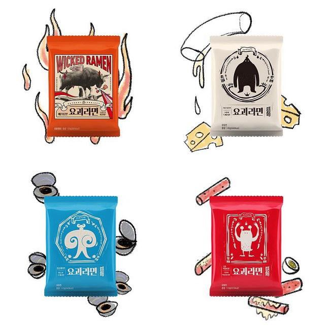 妖怪拉麵 辣炒牛肉風味(130g)