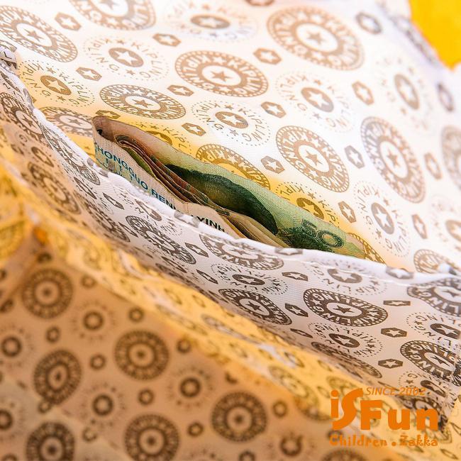 iSFun 防水印花 加大長型手提便當購物袋 4款可選