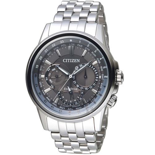 (無卡分期6期)CITIZEN星辰城市時刻光動能腕錶(BU2021-51H)