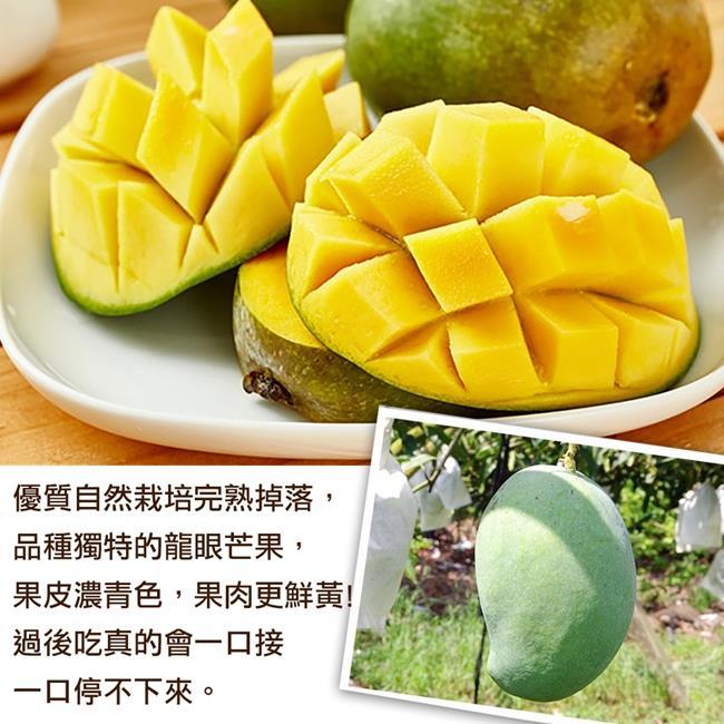 【天天果園】嚴選帝王黑香芒果10台斤(約16-22顆)