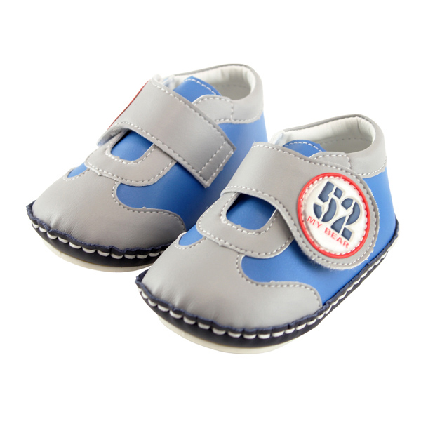 愛的世界 動感小子寶寶鞋/學步鞋-台灣製-