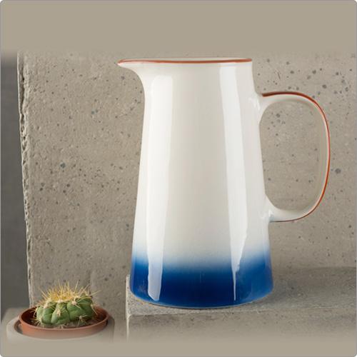 CreativeTops Drift陶製水瓶(渲染藍825ml)