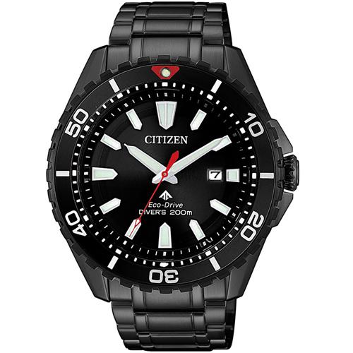(無卡分期6期)CITIZEN星辰PROMASTER探索潮流光動能腕錶(BN0195-54E)