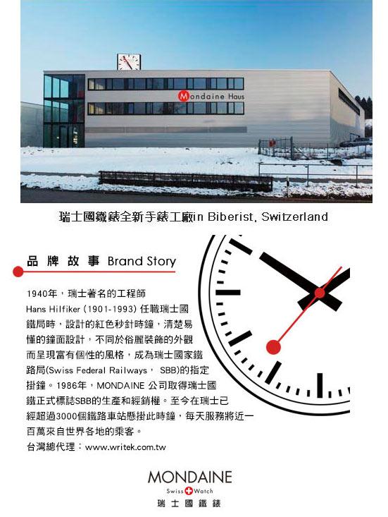 Mondaine 瑞士國鐵經典懷錶