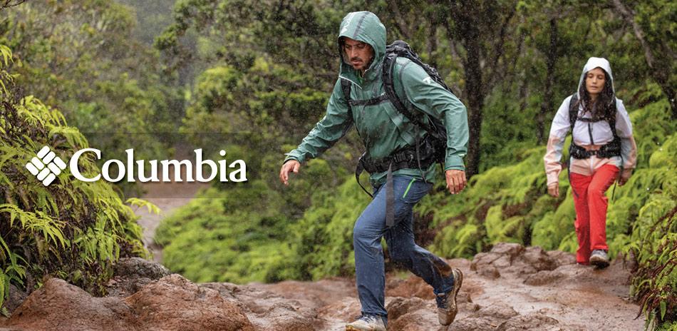 Columbia哥倫比亞 大雨特報 全館再9折