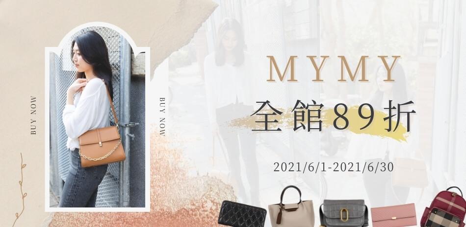MYMY 全館結帳89折