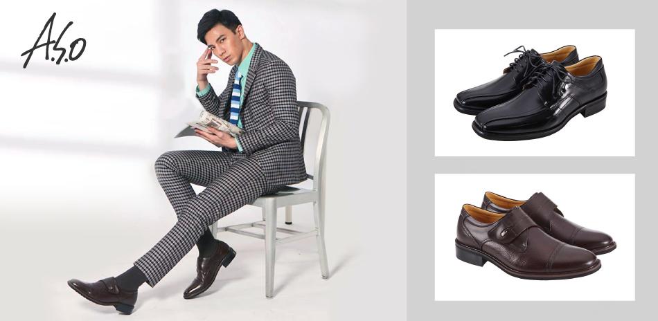 阿瘦集團 時尚質感型男鞋 全面5折起