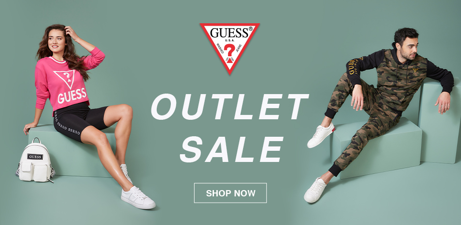 GUESS OUELET SALE