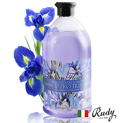 義大利Rudy 花香沐浴露1000ml六入+贈壓頭*2+保濕乳液5 product thumbnail 5