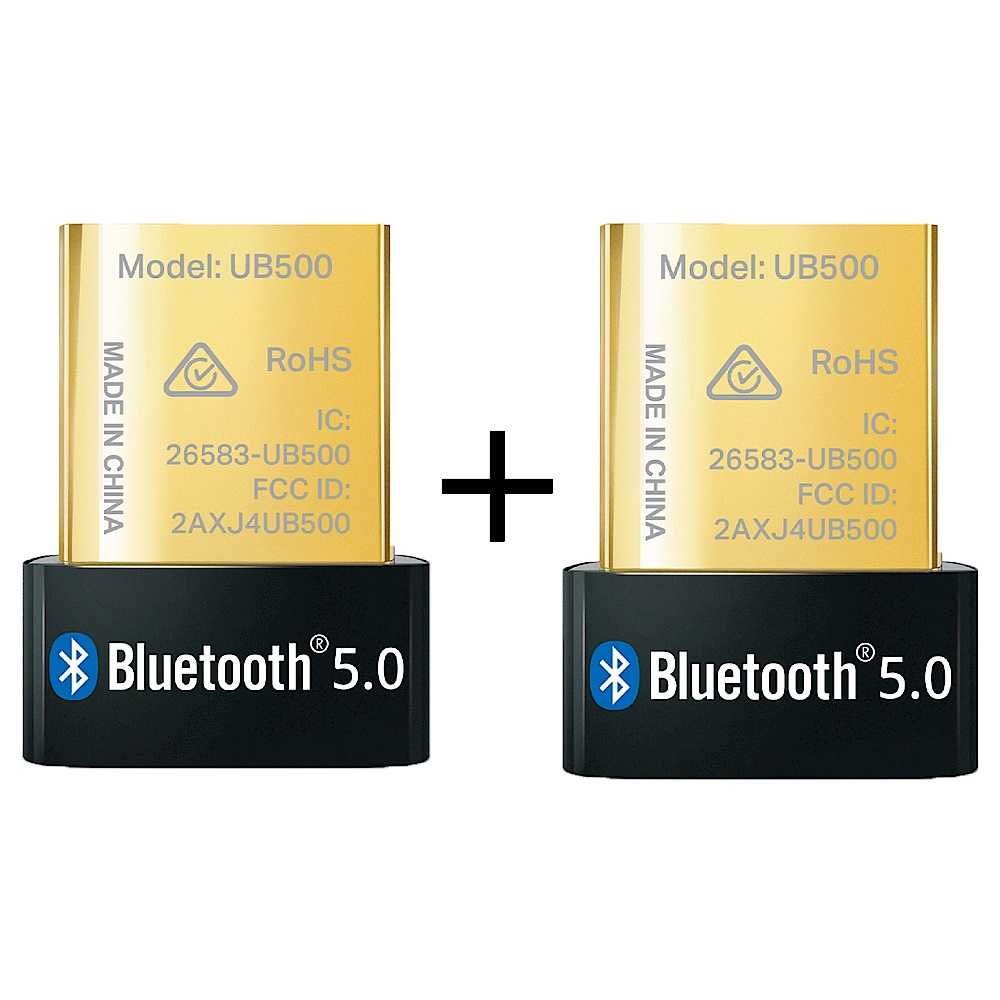 (兩入組)TP-Link UB500 微型 USB 迷你藍牙5.0接收器(藍芽傳輸器、適配器) product image 1