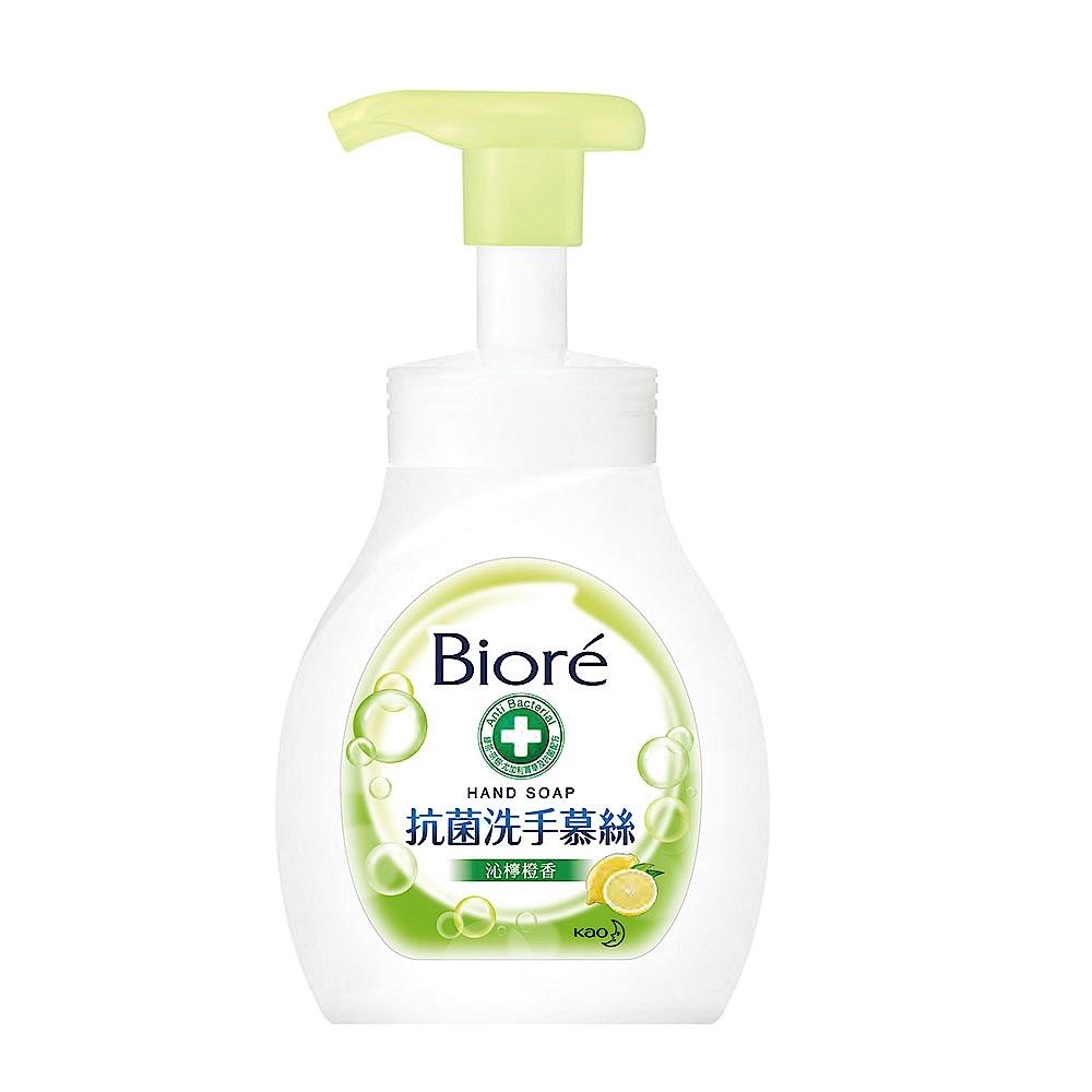 蜜妮 Biore 抗菌洗手慕絲 沁檸橙香 6入組(280mlx6) product image 1