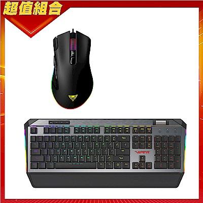 (電競組合)VIPER美商博帝 V765 RGB 機械式電競鍵盤(中文)+V551 RGB 電競光學滑鼠
