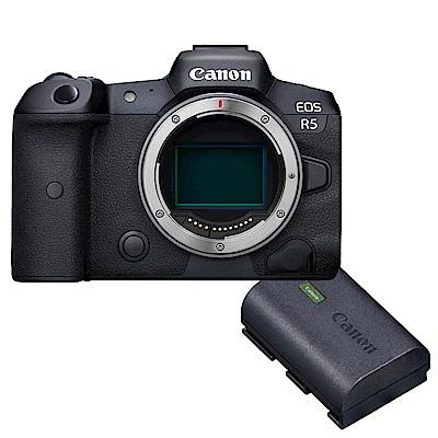 Canon EOS R5 單機身 + LP-E6NH 原廠電池組 公司貨