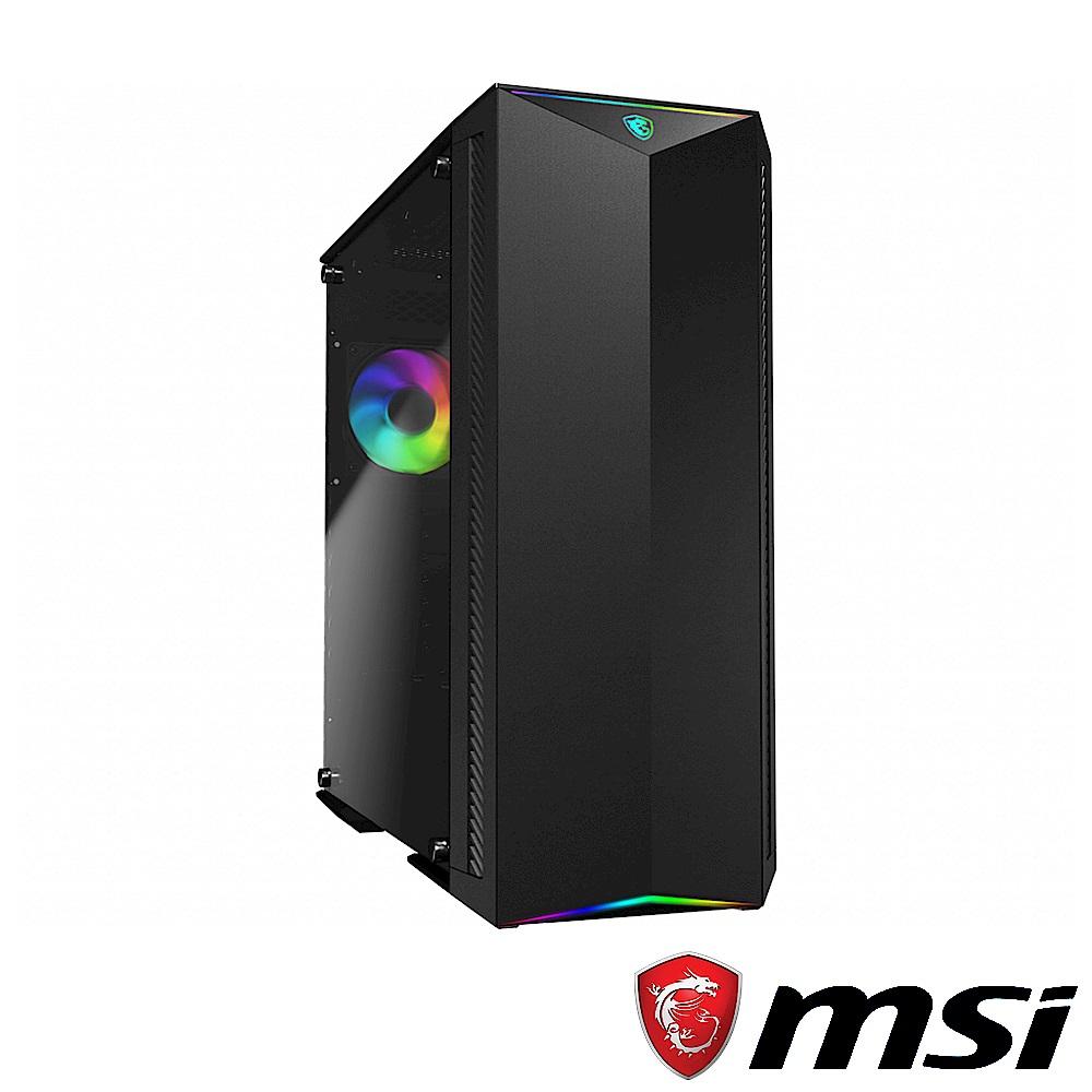 (C+P) MSI微星 MPG GUNGNIR 100 機殼 + MSI微星 MPG A750GF 80 PLUS金牌認證電源供應器 product image 1