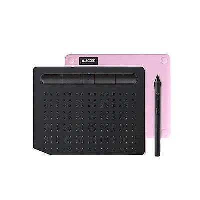 (送羅技無線靜音鍵鼠組)【動漫學習包】Wacom Intuos Comfort Small 藍牙繪圖板(粉紅) product thumbnail 2