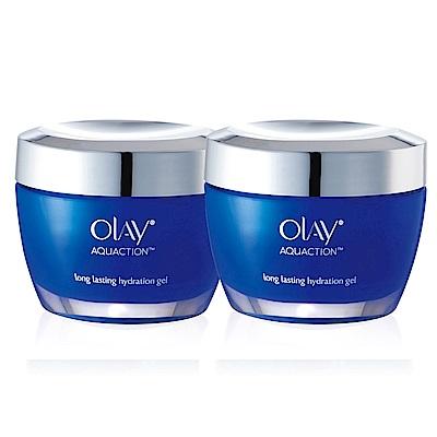 (2入組-再送高效護膚霜14g)歐蕾OLAY 長效保濕凝露50g