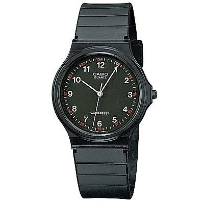 CASIO超輕薄感數字錶福袋三件組(MQ-24-1B/1B2/1B3)