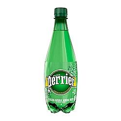 (買一送一)法國Perrier 氣泡天然礦泉水 PET瓶(500mlx24入)