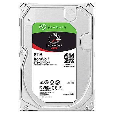 【NAS組合】Seagate 8TB 2入組 NAS硬碟(ST8000VN004)+ QNAP TS-251D-2G 網路儲存伺服器 product thumbnail 3
