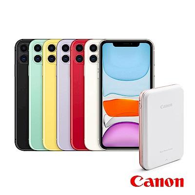 Apple超值組-iPhone 11 128G 智慧型手機+Canon迷你相片印表機