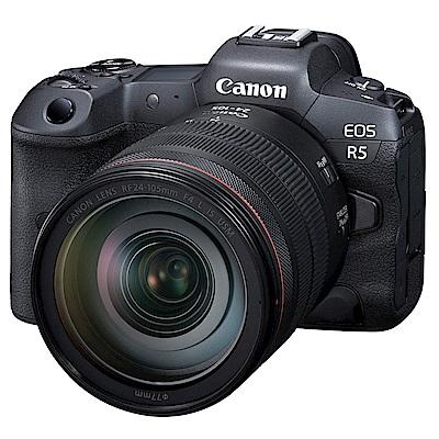 EOS R5 單鏡組 RF 24-105mm f/4 IS USM + Canon 原廠電池 LP-E6NH 組  product thumbnail 2