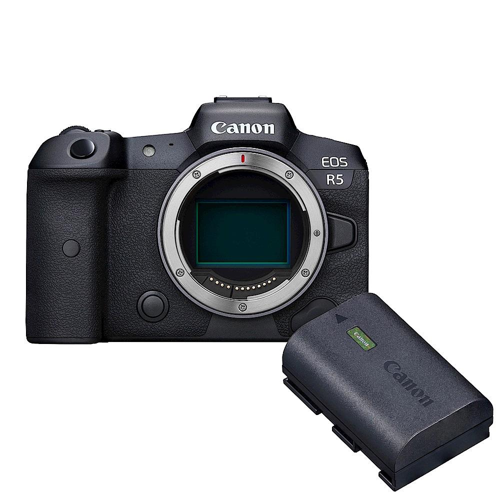 Canon EOS R5 單機身(公司貨) + Canon 原廠電池 LP-E6NH 組 product image 1