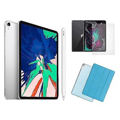 Apple超值組-iPad Pro 512GB+Apple Pencil+玻璃貼+皮套