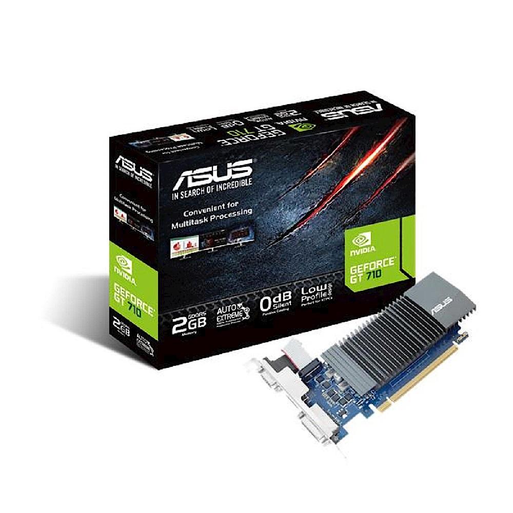 (V+SSD) 華碩 ASUS GeForce GT710 超值顯示卡 + TEAM 十銓 CX2 512GB 2.5吋 SATAIII SSD 固態硬碟 product image 1