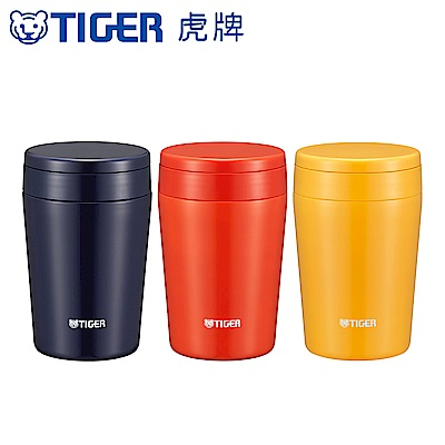 (組)[獨家買大送小, 平均694/個] TIGER虎牌 380cc不鏽鋼真空食物罐 送300cc食物罐 product thumbnail 2