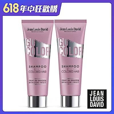 [時時樂限定] Jean Louis David漾光炫色髮浴500ml 超值2入組