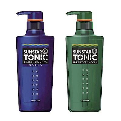 (兩入組)TONIC 爽快頭皮洗髮精 480ml + TONIC 爽快頭皮雙效合一洗髮精 460ml