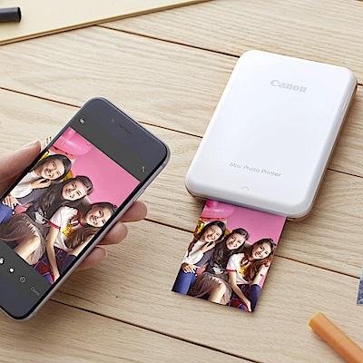 超值組-Canon PV-123 迷你相片印表機+40張(2包)專用相紙 product thumbnail 4