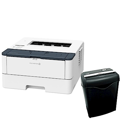 超值組-FujiXerox P285dw 雷射印表機+AURORA 6張碎斷式碎紙機 product thumbnail 2