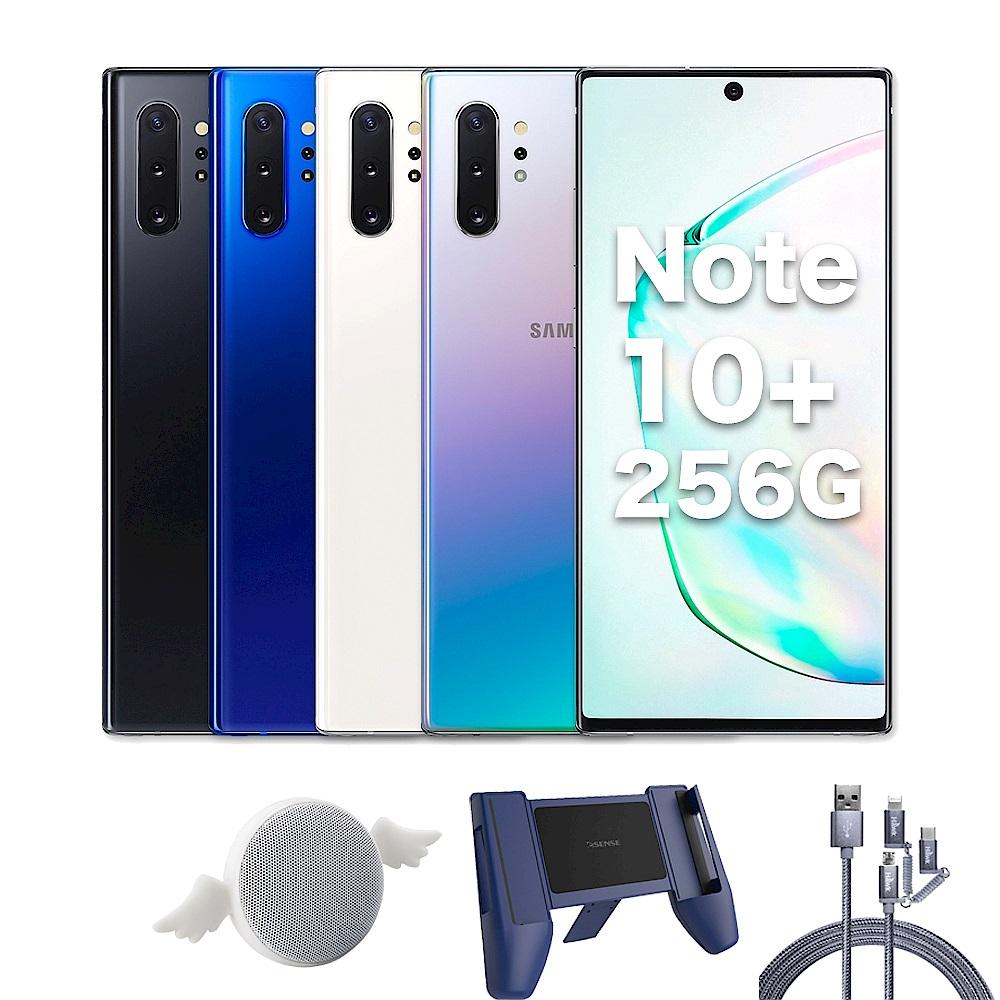 [藍芽喇叭+支架+高速線] Samsung Galaxy Note10+(12G/256G)6.8吋五鏡頭智慧手機 product image 1