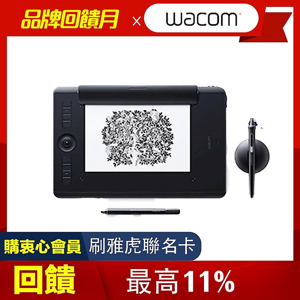 (送羅技無線鍵鼠組+無線滑鼠x2)【動漫達人包】Intuos Pro medium Paper Edition 雙功能繪圖板 product image 1