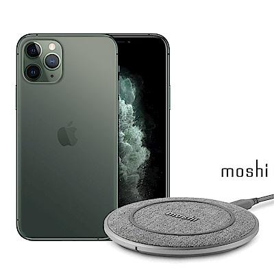 Apple超值組- iPhone 11 Pro 512G智慧型手機+Moshi 無線充電盤