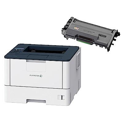 超值組-FujiXerox DocuPrint P375dw A4 黑白雙面雷射印表機+CT203109高容量碳粉匣(12K)