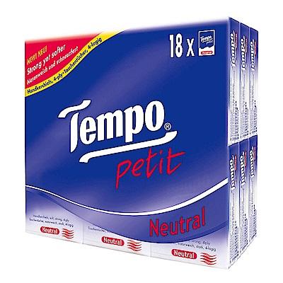 Tempo纸手帕-天然無香(7抽x18包/組)x9組