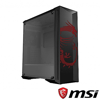 (C+P) MSI微星 MPG GUNGNIR 100D 機殼 + MSI微星 MPG A750GF 80 PLUS金牌認證電源供應器