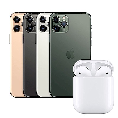 Apple超值組-iPhone 11 Pro Max 64G+AirPods2 (有線版)