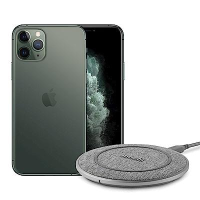Apple超值組- iPhone 11 Pro Max 512G手機+Moshi無線充電盤