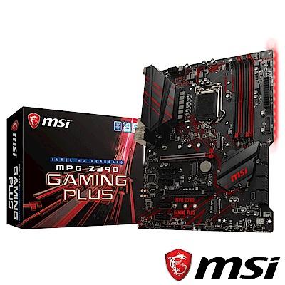(C+M)MSI MPG Z390 GAMING PLUS + i5-9400F 組合