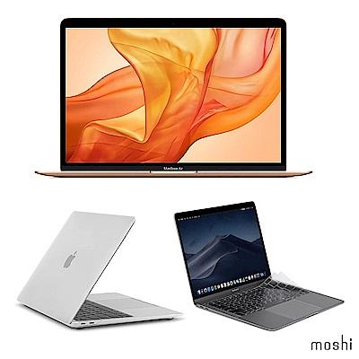 Apple超值組-2019 MacBook Air 256G+Moshi保護殼+鍵盤膜