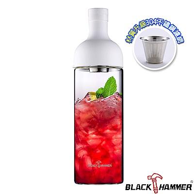 (組)[買1送1]Black Hammer 勻淨耐熱玻璃水瓶-1110ml product thumbnail 4