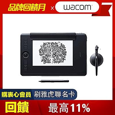 (送羅技無線鍵鼠組+無線滑鼠x2)【動漫達人包】Intuos Pro medium Paper Edition 雙功能繪圖板