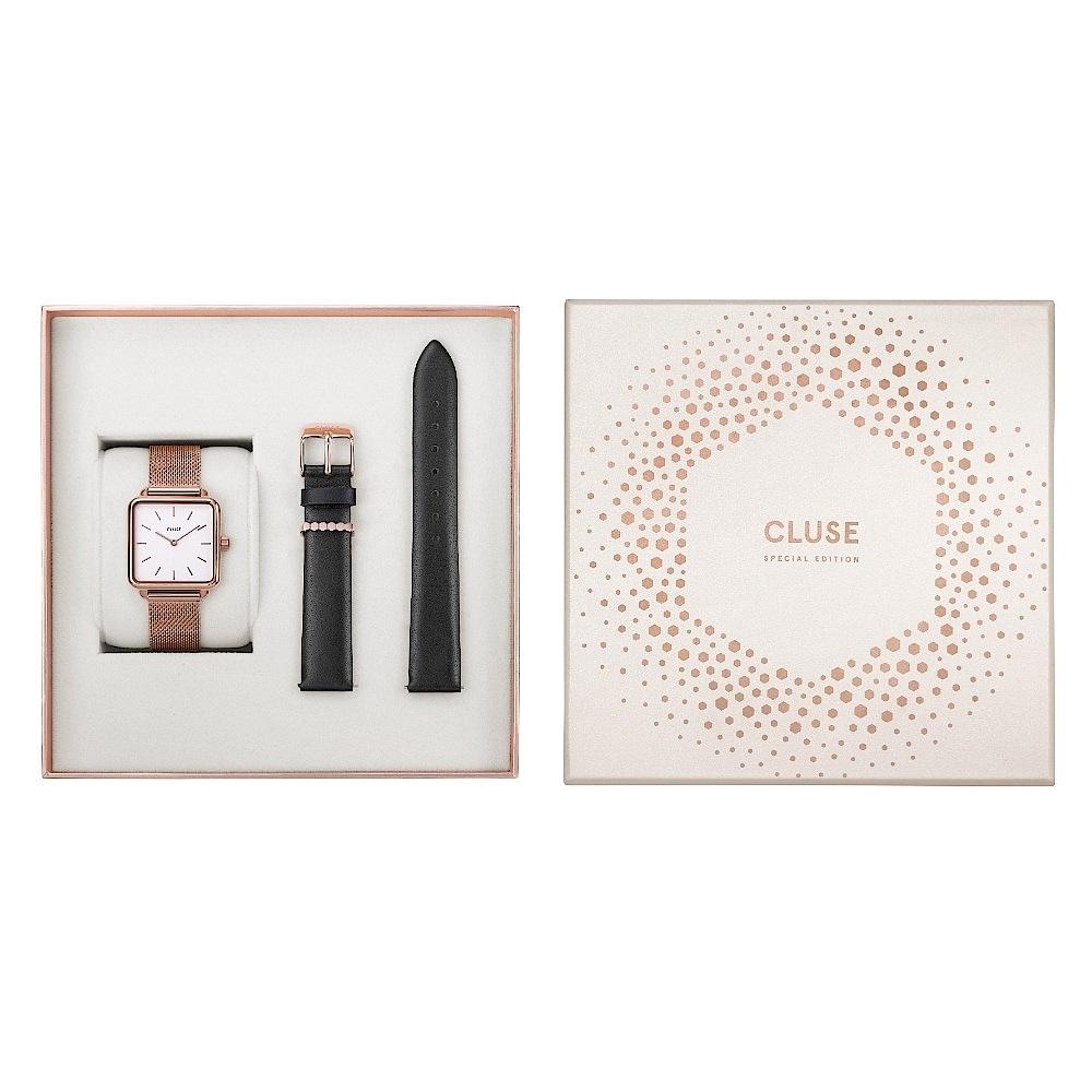 CLUSE 獨家春節福袋組(方框限量禮盒28.5mm+Aravis 男款腕錶40mm)
