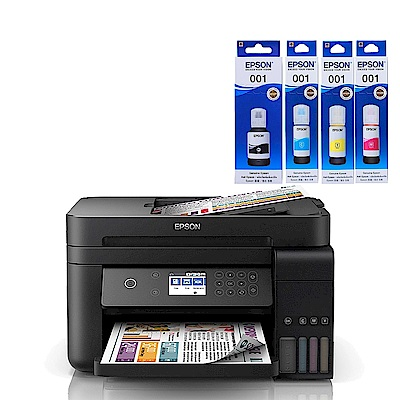 超值組-EPSON L6170 雙網三合一連供印表機+1黑3彩墨水。組合現省140 product thumbnail 2