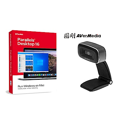 [組合] Parallels Desktop 16 for Mac 標準版 + 圓剛 PW310O 高畫質網路攝影機